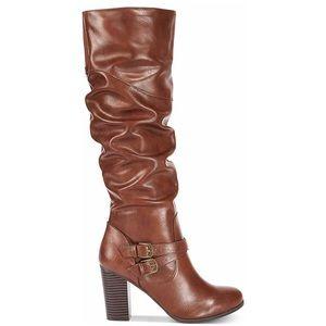 Style & Co Sophie Cognac Boots